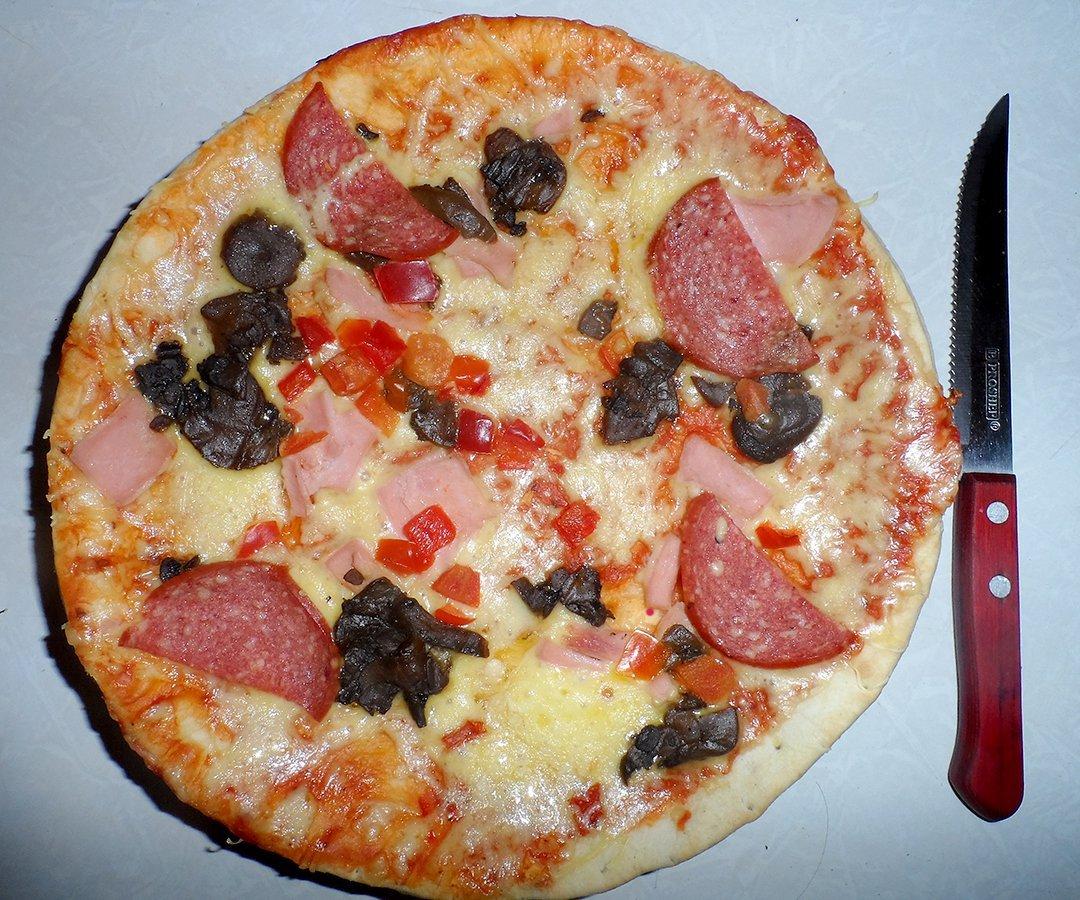 Как сделать пиццу дома с покупным тестом
