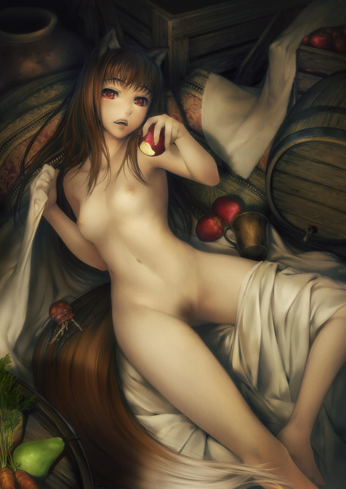 Naked anime wolf girl picture nsfw picture