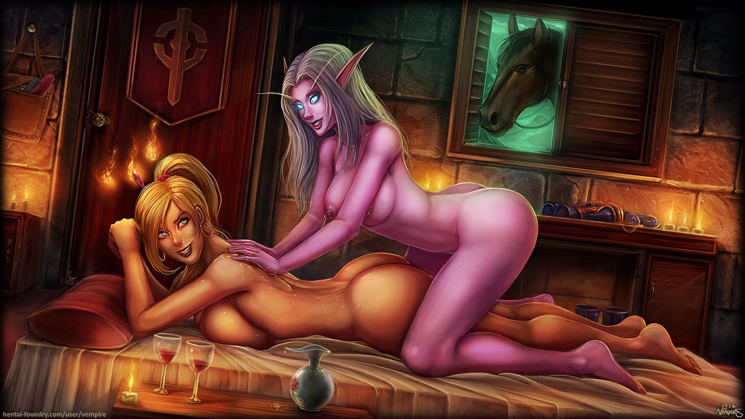 Night elf archer sex porncraft girls