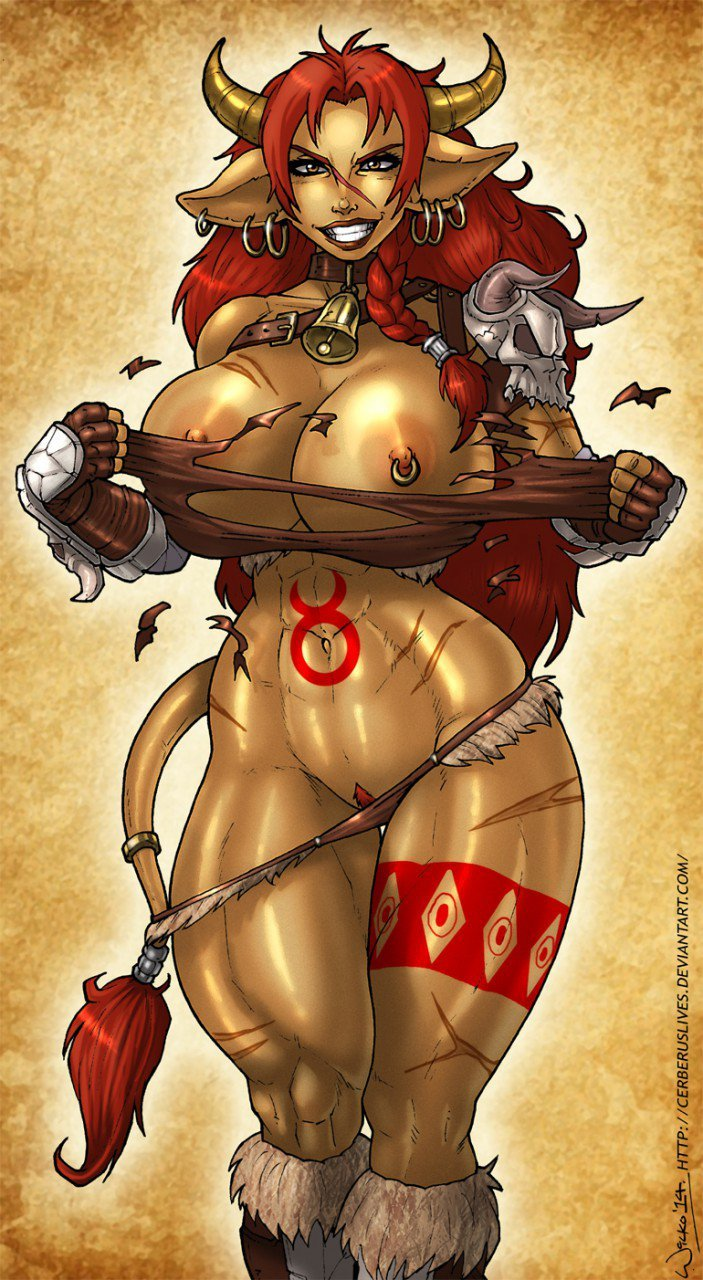 Sexy armor for tauren adult gallery