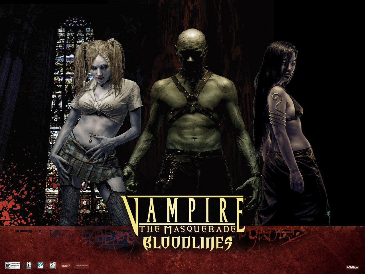 Vampire the masquerade bloodlines nacktpatch sexy tube