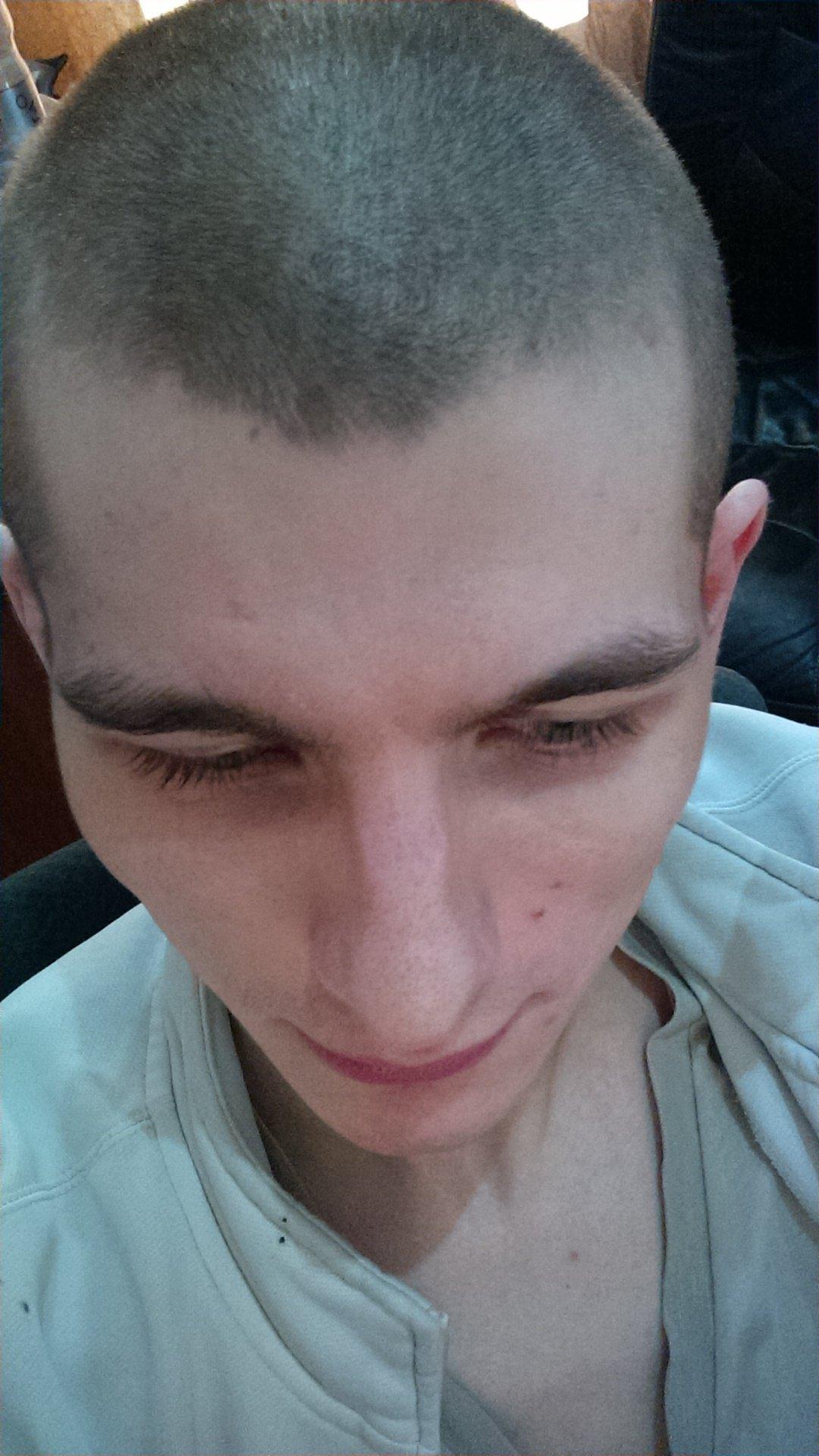 Причёска 9 мм фото