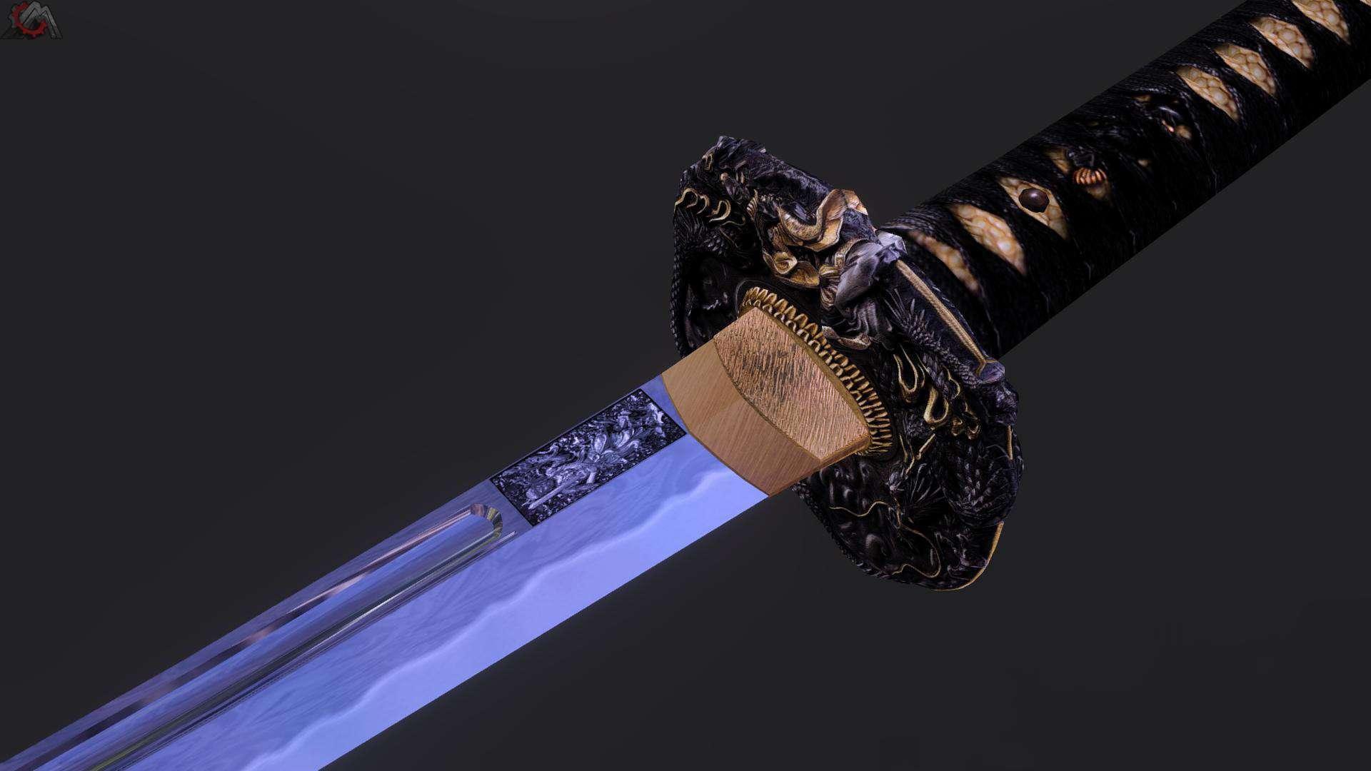 Обои для рабочего стола японские мечи