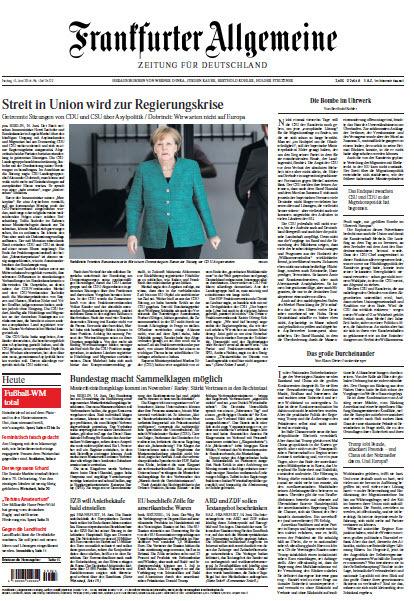 Frankfurter Allgemeine 15 Juni 2018