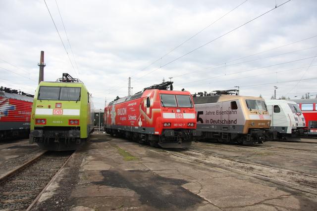 152 005-5 + 185 142-7 + 120 159-9 + 185 389-4 BW Osnabrück