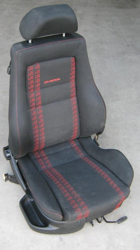 Sitz Vorne Rechts Beifahrersitz Recaro VW Golf 3 GTI
