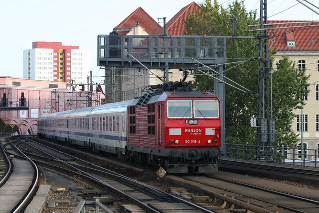 180 018-4 Railion DB Logistics Berlin Alexanderplatz