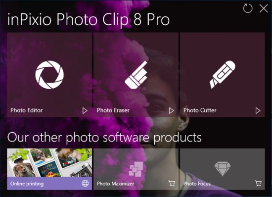 InPixio Photo Clip Professional v8.5.0