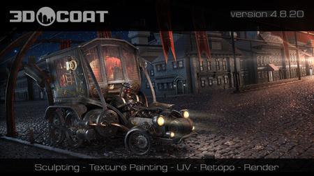 download 3D-Coat v4.8.20 (x64)