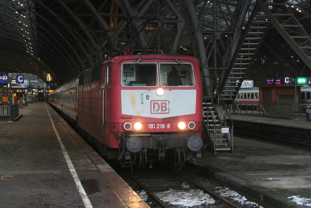 181 218-9 Leipzig Hbf