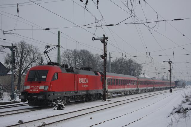 182 003-4 Railion DB Logistics Calau Niederlausitz