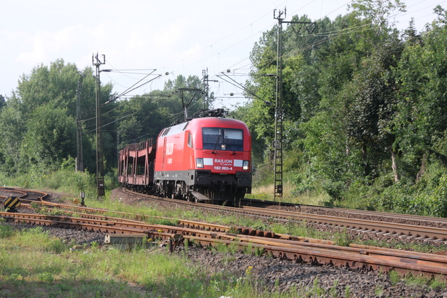 182 003-4 Railion DB Logsitics Wunstorf West