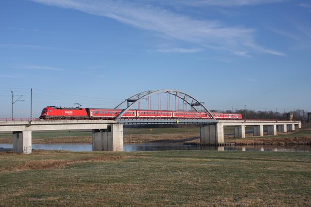 182 005-9 Torgau Elbebrücke