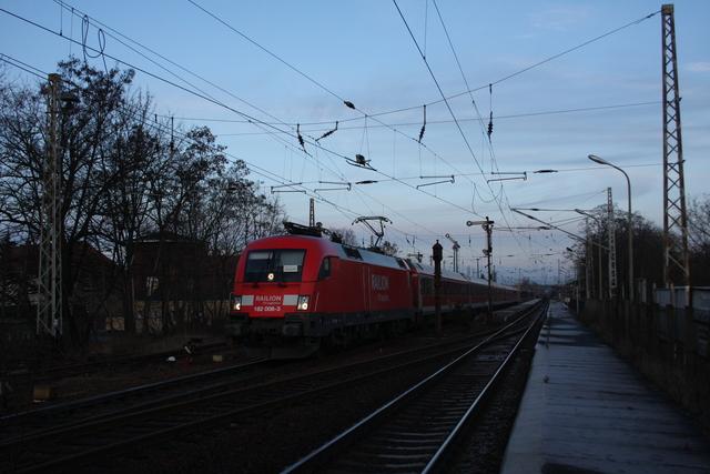 182 008-3 Ausfahrt Finsterwalde (Niederlasusitz)