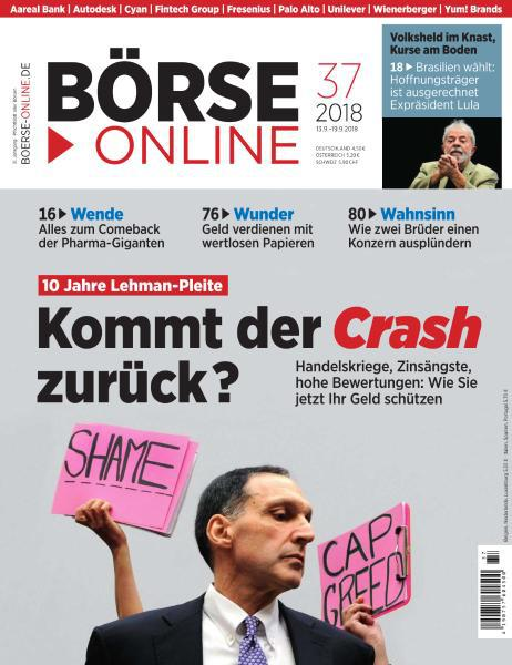 :  Börse Online Magazin September No 37 2018