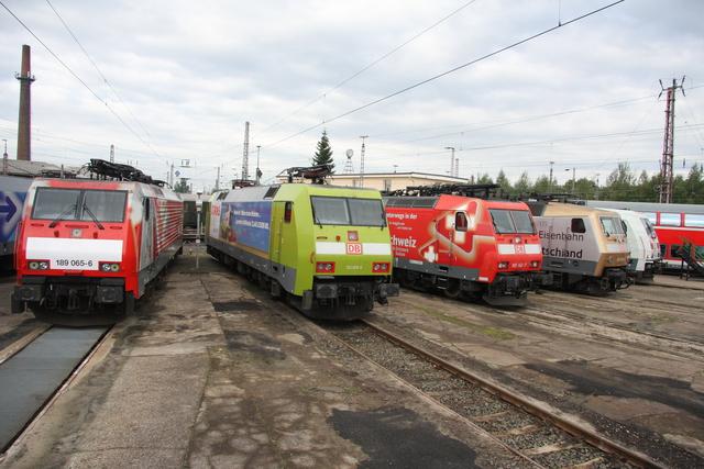 189 065-6 + 152 005-5 + 185 142-7 + 120 159-9 BW Osnabrück