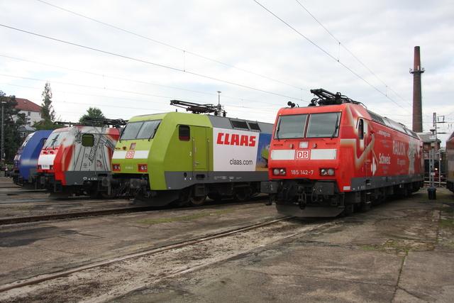 189 065-6 + 152 005-5 + 185 142-7 Osnabrück BW