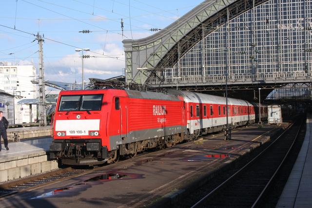 189 100-1 Railion DB Logistics Köln Hbf