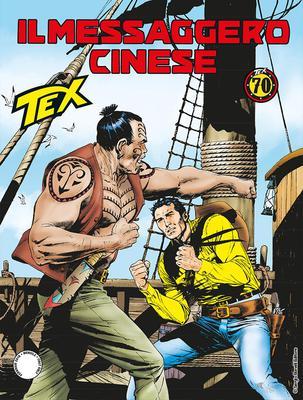 Tex Willer Mensile 688 - Il Messaggero Cinese (02/2018)