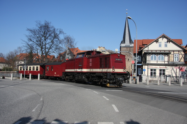199 861-6 Wernigerode Westerntorkreuzung