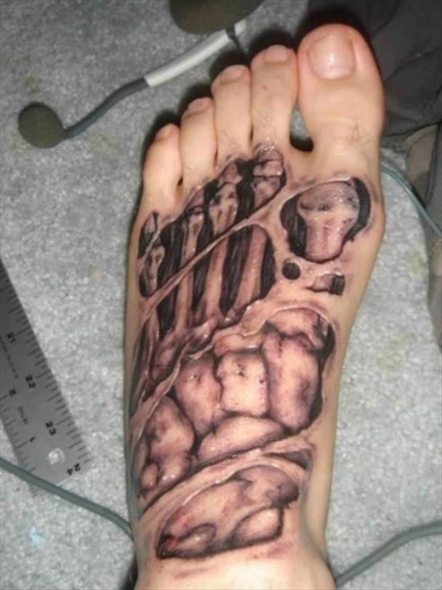 Realistyczne tatuaże #2 6