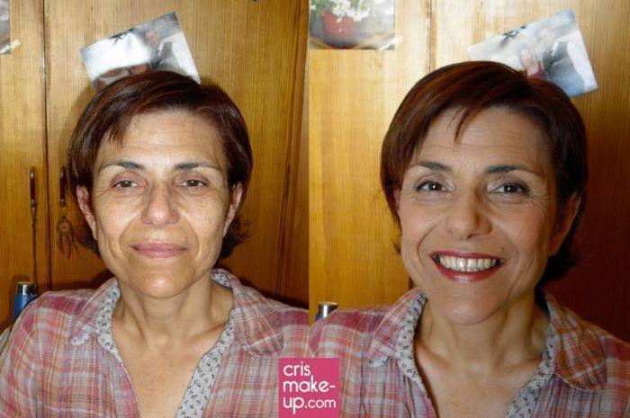 Ile zmienia makijaż? 10