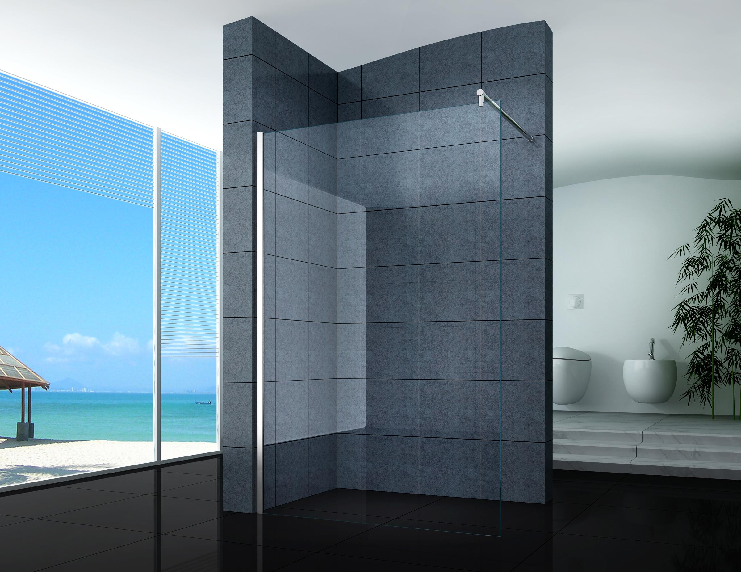 Duschabtrennungen mit Duschwand 120cm | eBay | {Duschabtrennung badewanne faltbar 91}