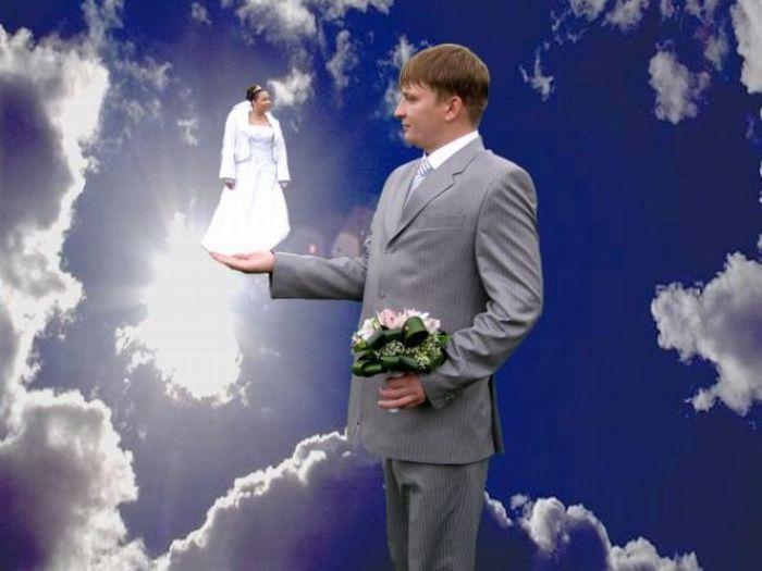 Najdziwniejsze zdjęcia ślubne #2 2