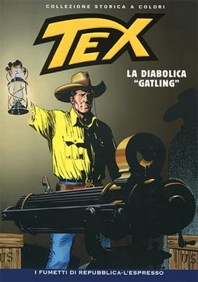 Tex Willer Collezione Storica a Colori 130 - La diabolica Gatling (2009)