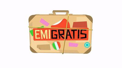 Emigratis (2016) (Completa) HDTVRip ITA AC3 Avi