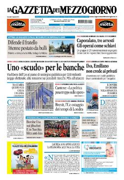 La Gazzetta del Mezzogiorno - 01-07-2016