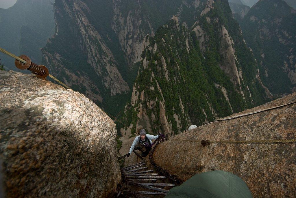 Droga na szczyt Hua Shan 20