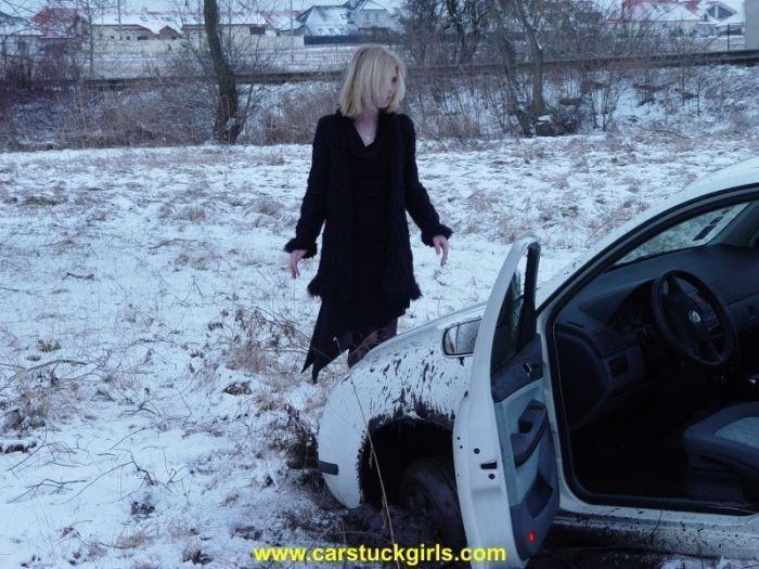 Kobiety za kierownicą zimą 14