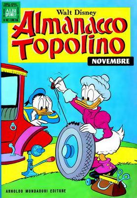 Almanacco Topolino 167 - Topolino e il mistero dei cani scomparsi (11-1970)