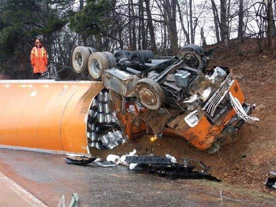 Wypadki ciężarówek 11