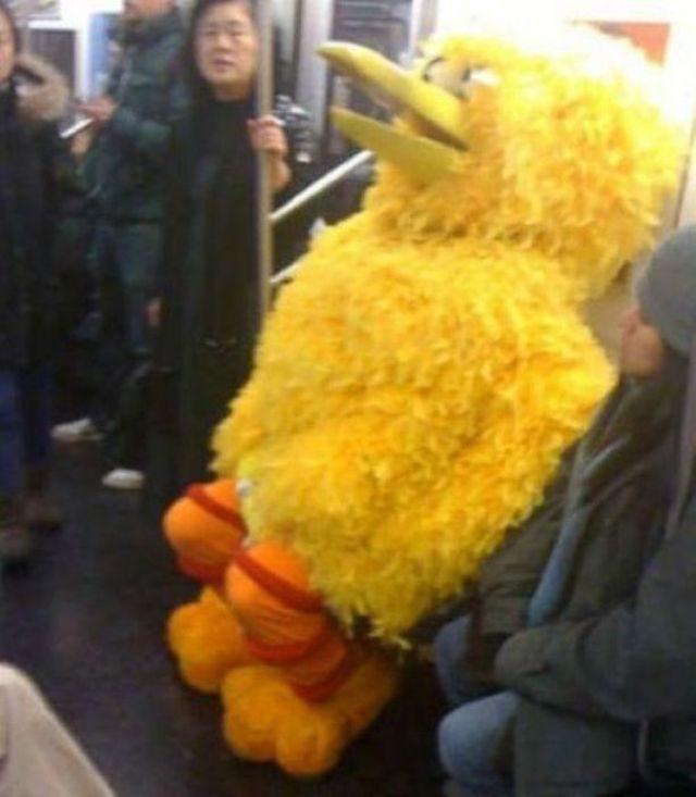 Najdziwniejsi ludzie w metrze 3