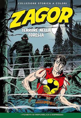 Zagor Collezione storica a colori N. 200 - Terrore nella Foresta (2017)