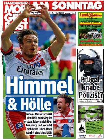 Hamburger  Morgenpost 20 August 2017