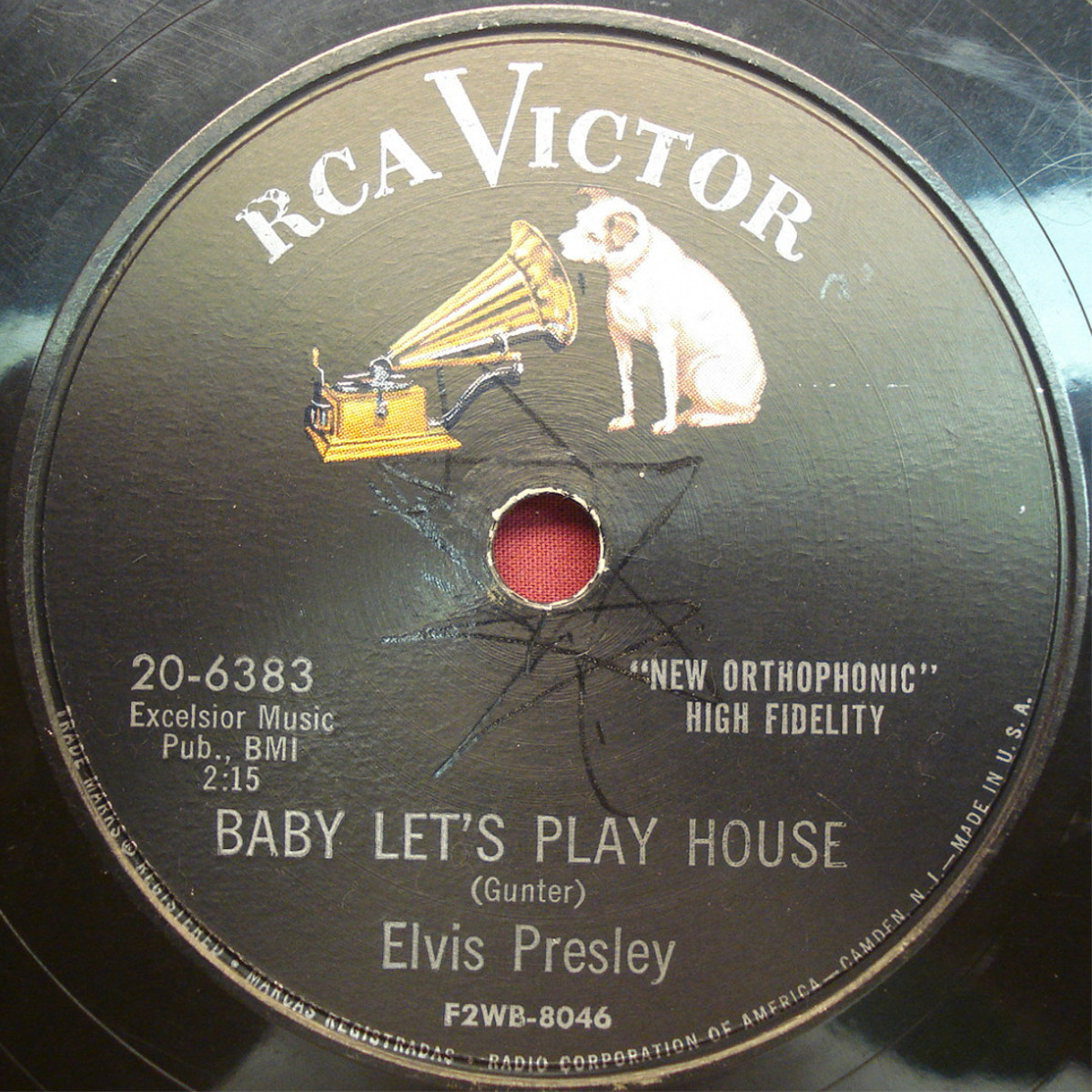 Baby Let's Play House / I'm Left, You're Right, She's Gone 20-6383bkusf8