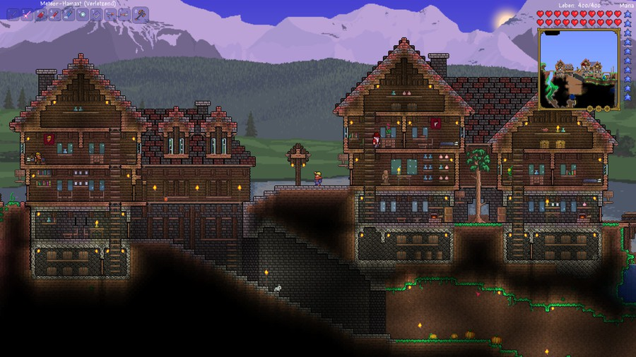 Terraria tower build together with  on the terraria times replies and random building
