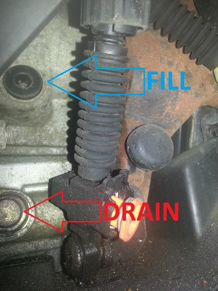 Quick few questions before I change transmission fluid ...