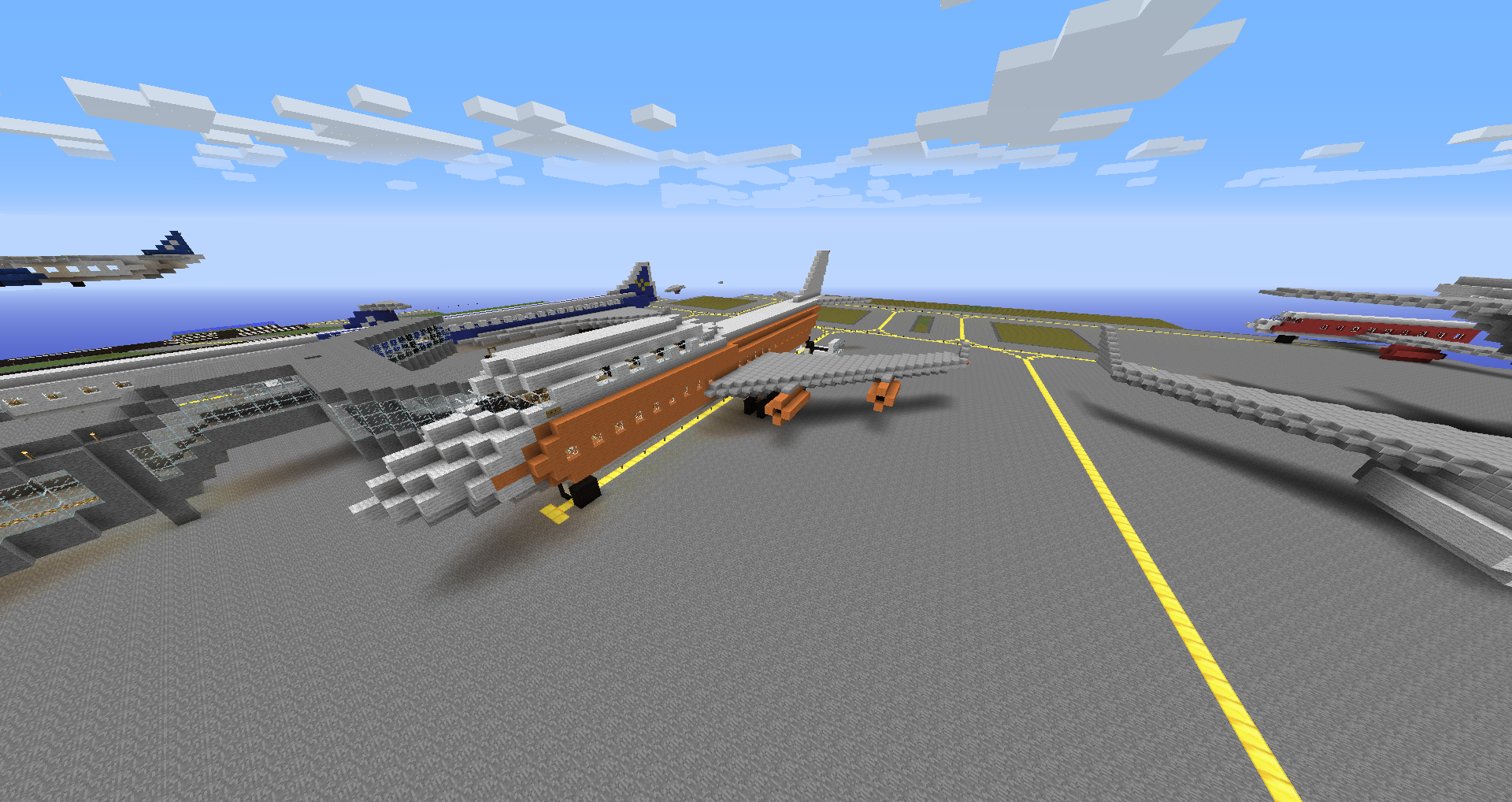 RAF Typhoon Fighter Aircraft besides Board Game Wargame Counters further Plane Landing Over Beach in addition Plane Us Air Force Aircraft further Minecraft Concorde Airplane. on list_of_planes