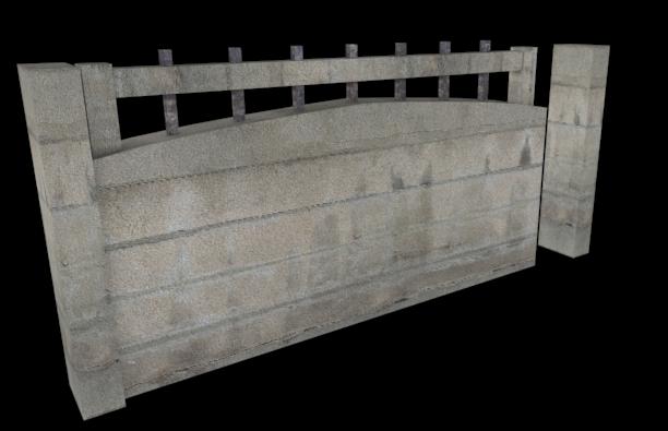 Betonowe płoty