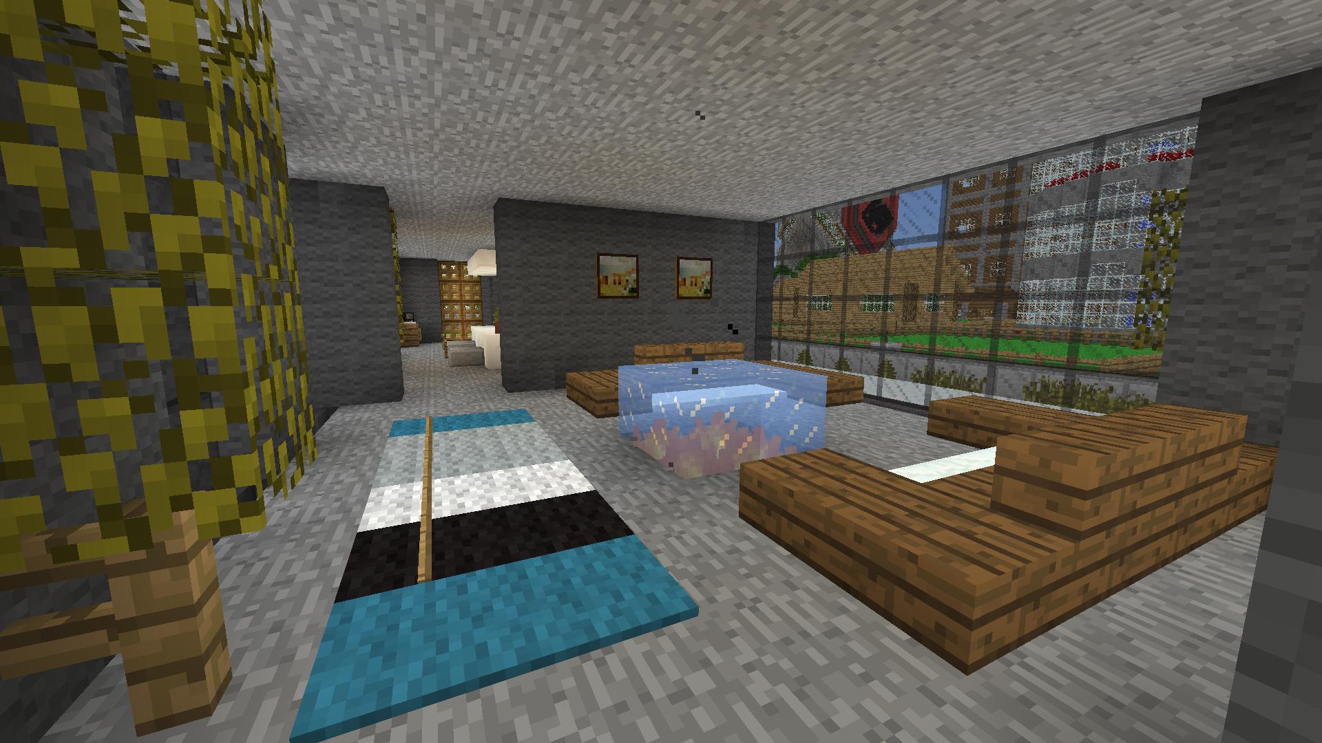 Minecraft Wohnzimmer Bauen Seldeon Innen Wohnzimmer Design