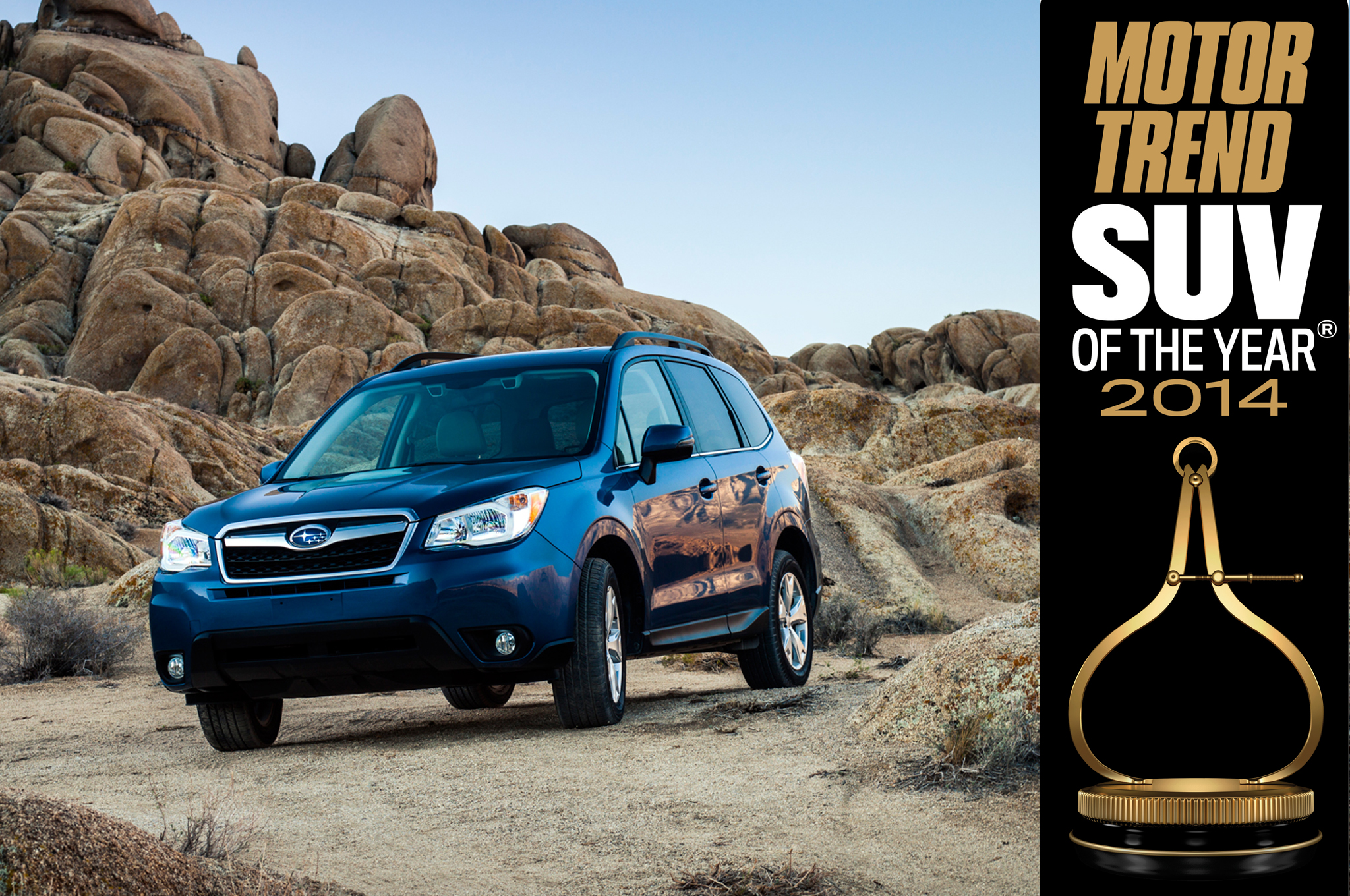 2014 motor trend suv of the year subaru forester club for Motor trend crossover of the year