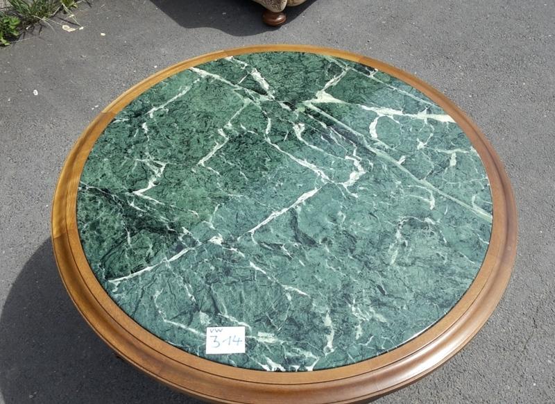 Schn ppchen couchtisch rund marmor beistell herrenzimmer for Marmortisch rund