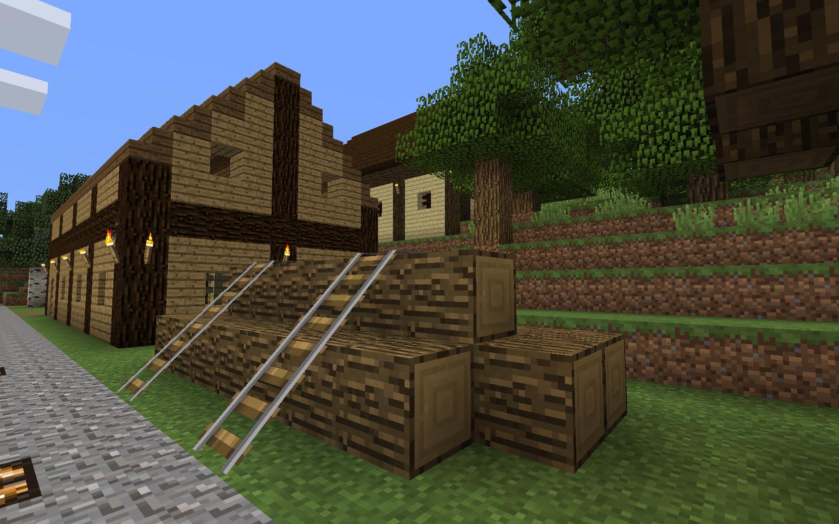 Saravia - Minecraft hauser dorfbewohner