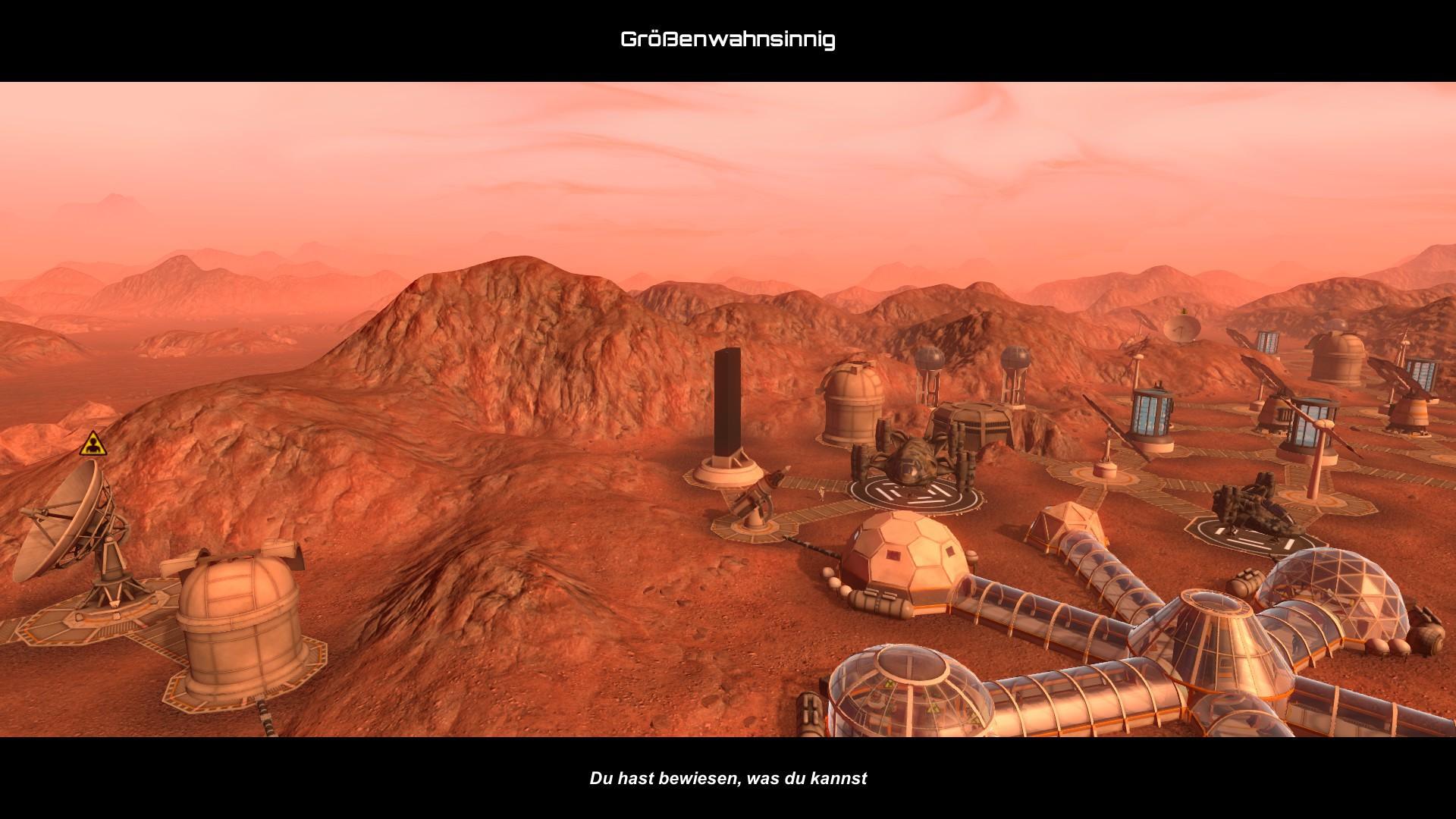 Planetbase - Monolith gebaut.