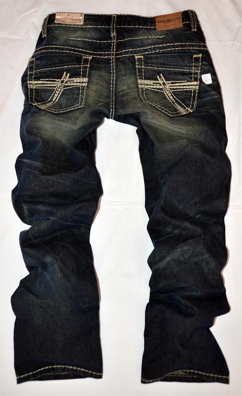 details about camp david jeans hose men style new connor w36 l32 neu. Black Bedroom Furniture Sets. Home Design Ideas