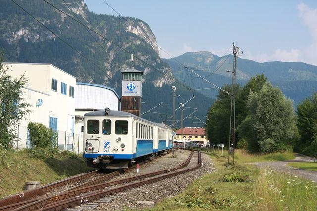 213 Enfahrt Garmisch-Partenkichen